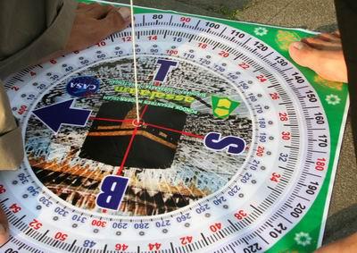 Kompas kiblat
